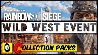 *NEW* RAINBOW SIX SIEGE WESTERN EVENT & COLLECTION PACKS!? Operation Phantom Sight SPECIAL NEWS