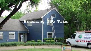 exterior house painting dallas ft worth spray painting exterior. Black Bedroom Furniture Sets. Home Design Ideas