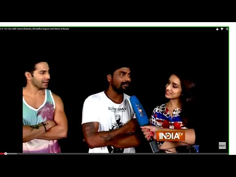 ABCD 2: Tic-Tac with Varun Dhawan, Shraddha Kapoor and Remo D'Souza - India TV