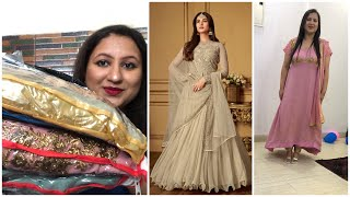 Online Shopping Affordable Salwar Kamiz/ Anarkali Suit/ Ethnicwear Dresses Try On Haul Review