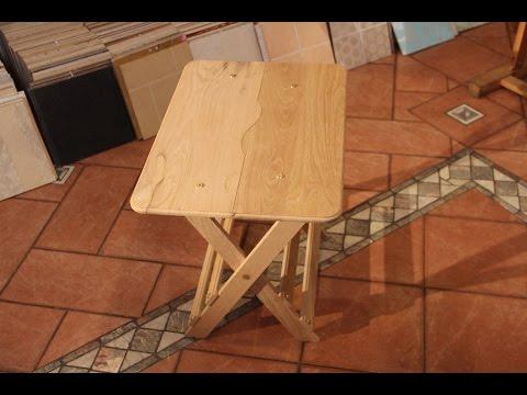 Изготовление раскладного стола своими руками видео