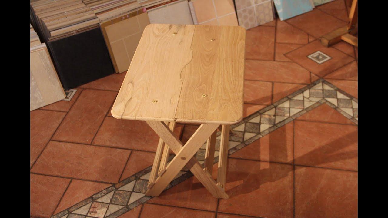 Изготовление складного столика
