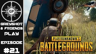 Fails of the Weak - PlayerUnknown's Battlegrounds - Greyshot & Friends Play