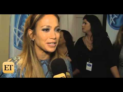 Interview with JLo, Harry, & Adam about NY Idol auditions.