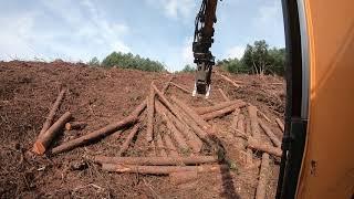 [굴삭기] korean forest excavator ,산판장비 (feat,검법남녀)