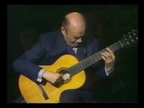 Rare Guitar Video: Julian Bream plays Choro No.1 by Heitor Villa Lobos