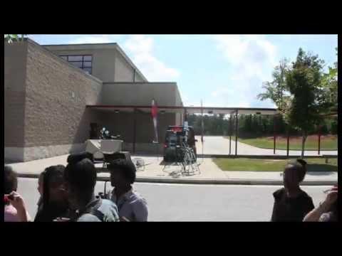 Stone Mountain Middle School Solar Astronomy October 2 2014