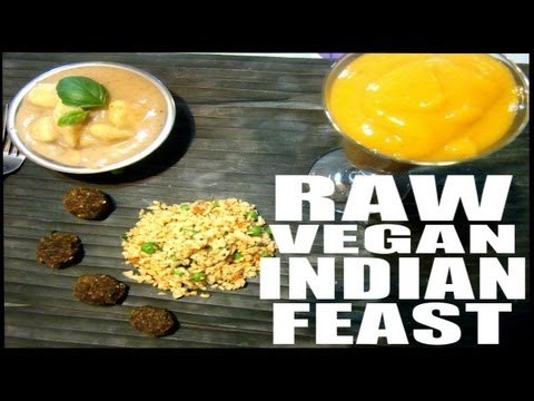 Raw Vegan Indian Meal (Recipes)
