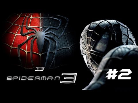 Let's Play Spiderman 3 Part 2- THE LIZARD