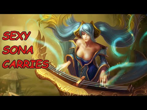 Sexy Sona Carries (league Of Legends) video