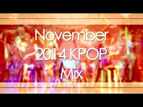 November 2014 Kpop Mix video