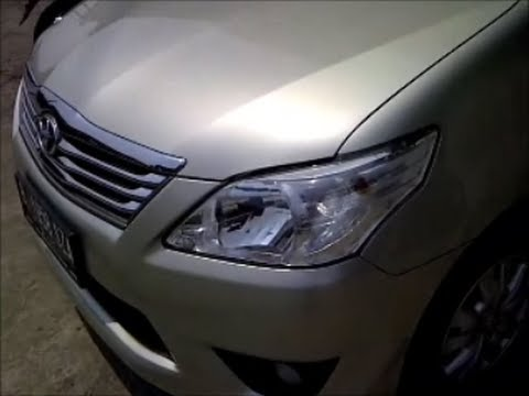 Fuel saver (HHO) on Toyota New Grand Innova 2012