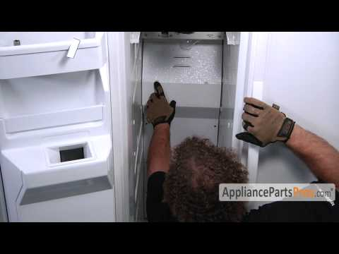 Refrigerator Defrost Thermostat (part #W10225581)-How To Replace