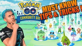 *5 MUST KNOW TIPS* FOR RALTS COMMUNITY DAY POKEMON GO (2019)