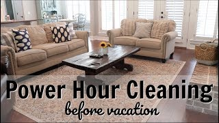 CLEAN WITH ME 2018 // SUMMER POWER HOUR // EXTREME CLEANING MOTIVATION