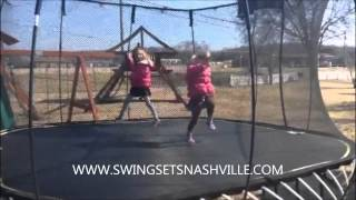 Kids Trampoline In Nashville Tennessee - 10ft, 12ft, 14ft and 16ft Trampoline With Enclosure