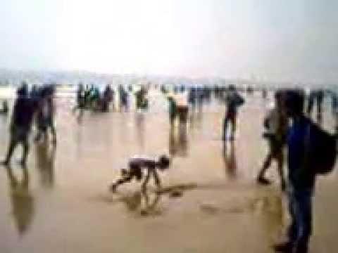 Beautiful Sea Beach at Puri,Odisha,India