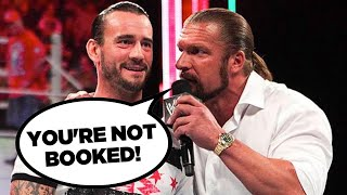 Real Reason CM Punk Missed WWE Backstage