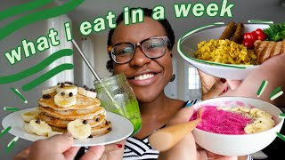 Vegan What I Eat in a Week - vegan breakfast ideas | veggieonpennies