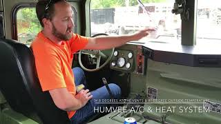 DIY Humvee / HMMWV Complete A/C & Heat Solution Kit Offered By Military Equipment