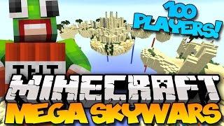 Minecraft: Mega Skywars - FAILS! (Hypixel Skywars)