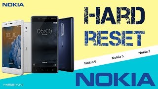 Hard Reset NOKIA 3/5/6 Factory Data Reset