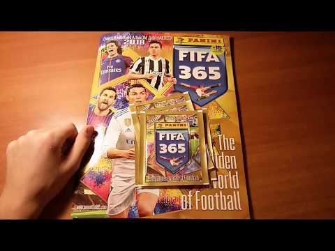 Обзор FIFA 365 (2018) Panini {|} Открытие 5 пачек и обзор журнала {|} ЧАСТЬ 1/2