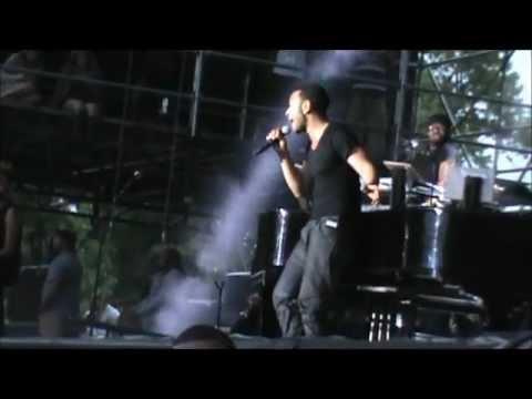 John Legend Firefly Festival 2012