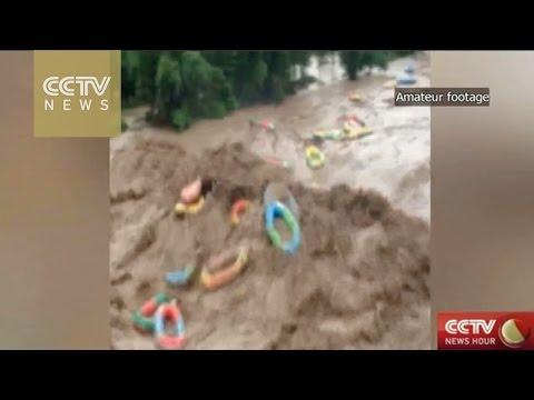 Nearly 4,000 evacuated after flash floods in east China