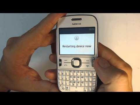 Nokia Asha 302 hard reset