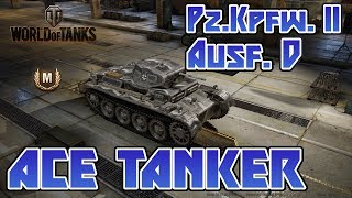 World of Tanks // Pz.Kpfw. II Ausf. D // Ace Tanker // Xbox One