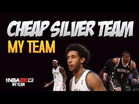 NBA 2k13 Cheap Silver My Team. under 15K Total VC!