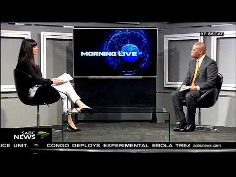 In discussion with Herman Mashaba