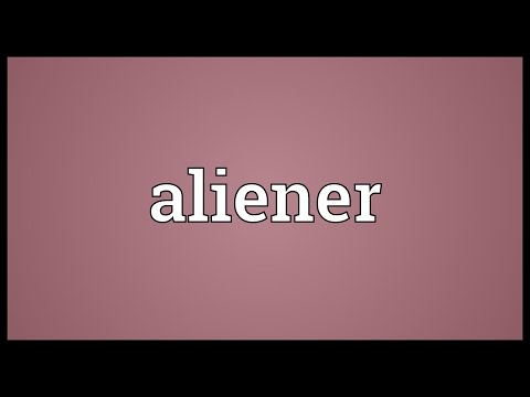 Header of aliener