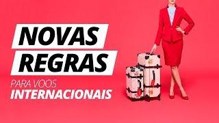 🧳 Novas regras para BAGAGENS em voos internacionais!
