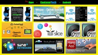 #108 Top 10 Android APPS - Best of The Week - The Cloud Siine Waze 2012