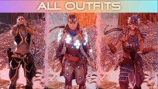 Horizon Zero Dawn All Outfits / All Armor/Skins