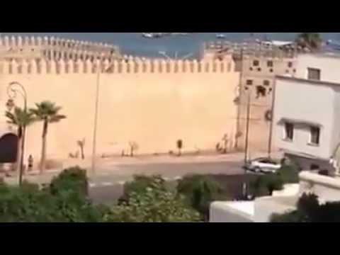لقطة خطيرة من فيلم توم كروز المهمة المستحيلة الخامسة بالرباط  MISSION IMPOSSIBLE 5
