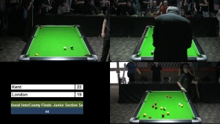 2018 National Inter-County Cup - Junior Section - Semi Final - Kent v London