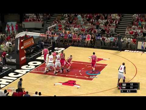 [HD] Houston Rockets vs. Chicago Bulls 120-97 | United Center December 25th 2012 | NBA2k13 Forecast
