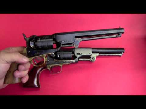Shooting Colt's 3rd model Dragoon Revolver.mov