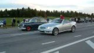 SRM #4 Volvo Amazon vs Mercedes SLK32 AMG Kleeman.
