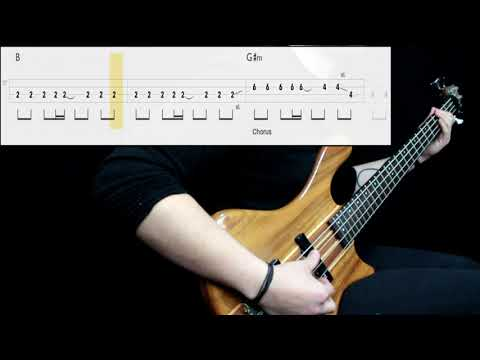 Gorillaz - Tomorrow Comes Today (Bass Cover) (Play Along Tabs In Video)