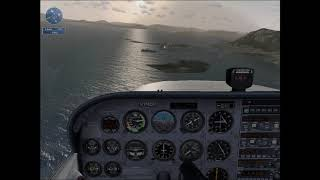 Microsoft Flight simulator X- Sitka Approach