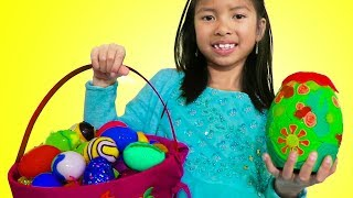 Wendy Easter Surprise Egg Hunt with Toys Challenges