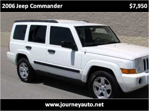 2006 Jeep Commander Used Cars Berea KY