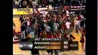 Auburn basketball featuring 1998-99 season