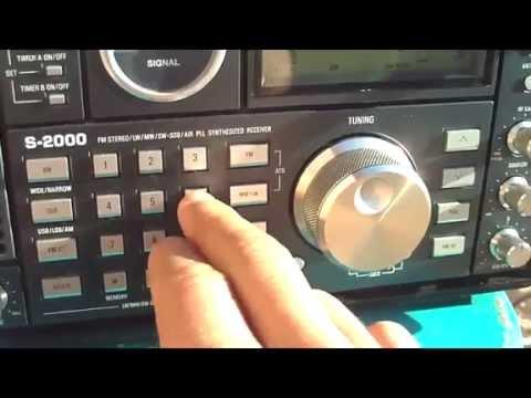 6160 khz e 9695 khz Radio Rio Mar , Manaus , Amazonas , Brazil