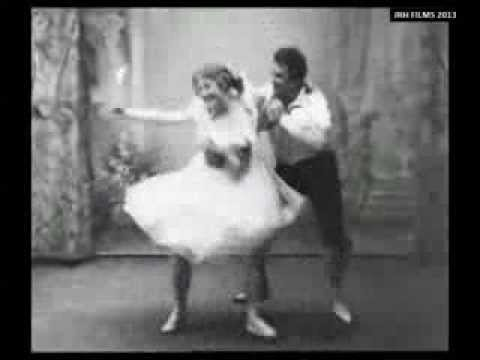 Valborg Borchsenius and Hans Beck - 'Tarantella from Napoli' (1903)