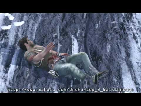 Uncharted 2: Among Thieves Walkthrough - Chapter 15: Train-Wrecked Part 1 HD